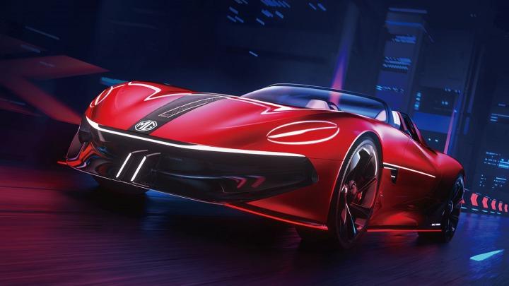 MG Cyberster concept zadebiutuje na Shanghai Auto Show