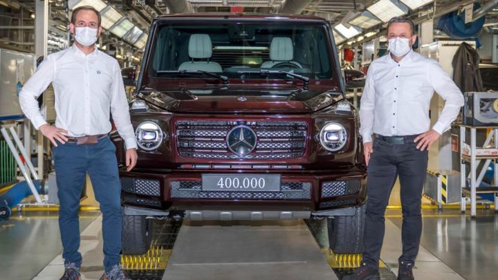 Mercedes-Benz Klasa G czyli 400 tysięcy sztuk od 1979 roku