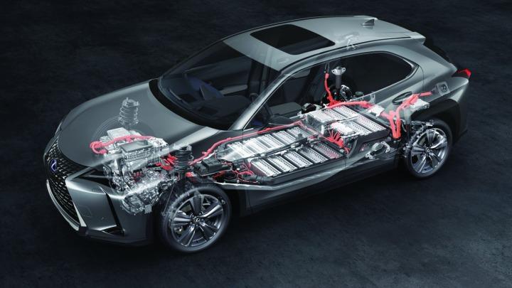 Lexus UX 300E z gwarancją na milion kilometrów