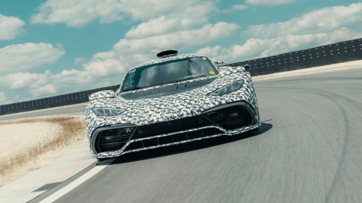 Mercedes-AMG Project ONE: testy wkraczają w ekscytującą fazę