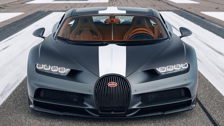 Bugatti Chiron w specjalnej edycji