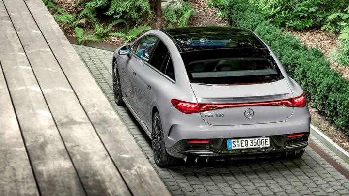 Nowy Mercedes EQE