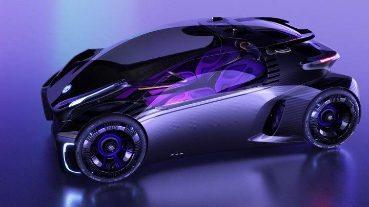 MG Maze samochód koncepcyjny zainspirowany grami mobilnymi