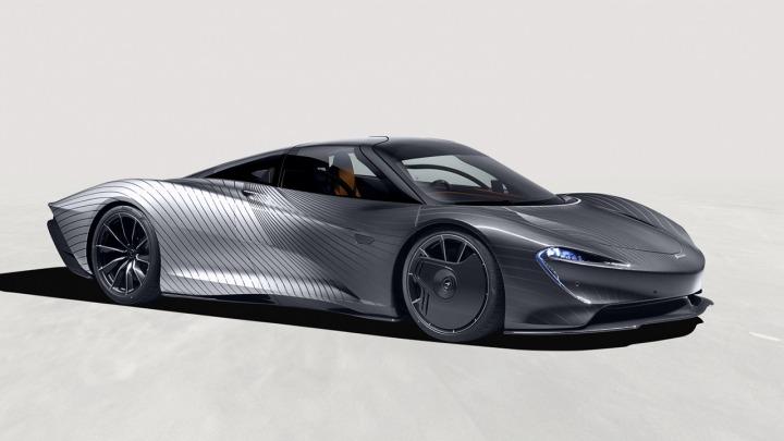 McLaren Speedtail zwany Albert, hołd dla pierwszego prototypu