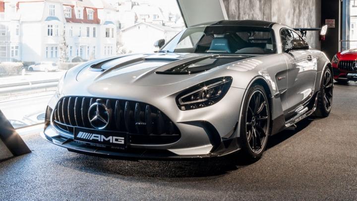 Wyjątkowy Mercedes-AMG GT Black Series