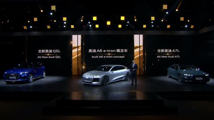 Audi na Auto Shanghai 2021