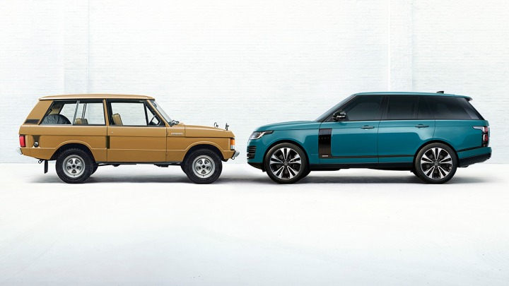 RANGE ROVER 50 lat inowacji i luksusu w nowej limitowanej edycji