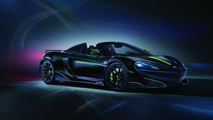 12 egzemplarzy McLaren 600LT Spiders docierają na rynek amerykański