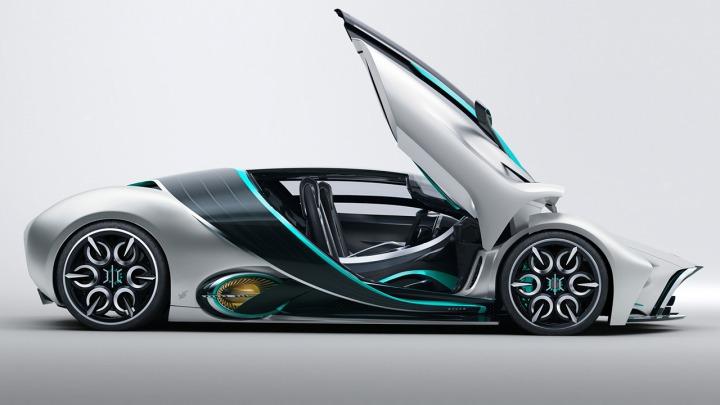 Hyperion XP-1 Hydrogen Hypercar niesamowita przyszłość motoryzacji. Premiera