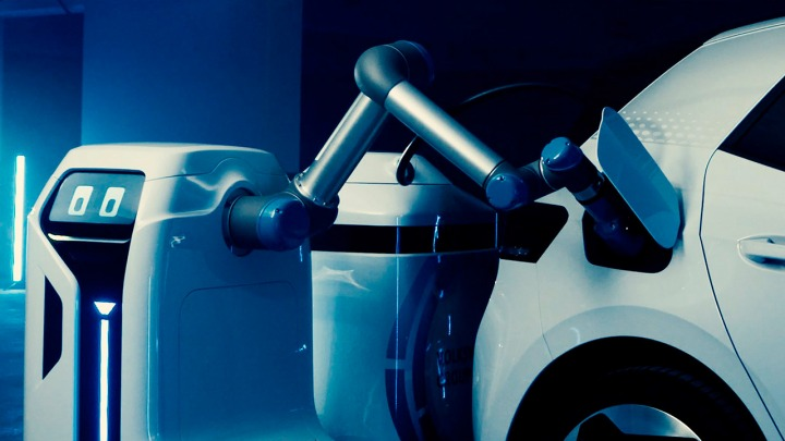 Mobilny robot ładujący od Volkswagena