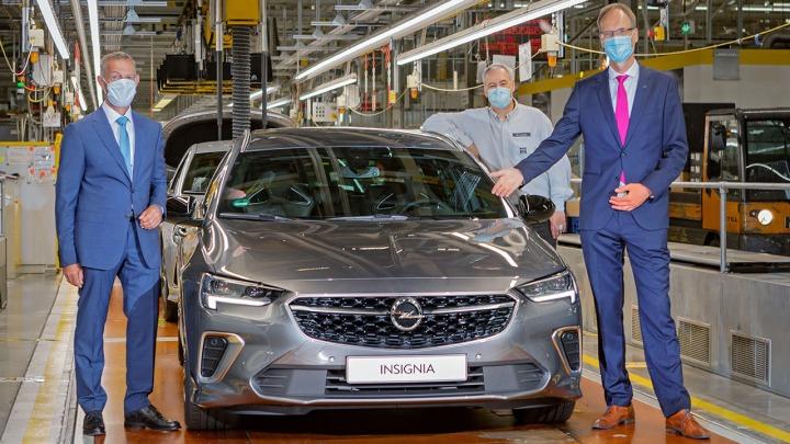 Nowy Opel Insignia oficjalne rozpoczęcie regularnej produkcji