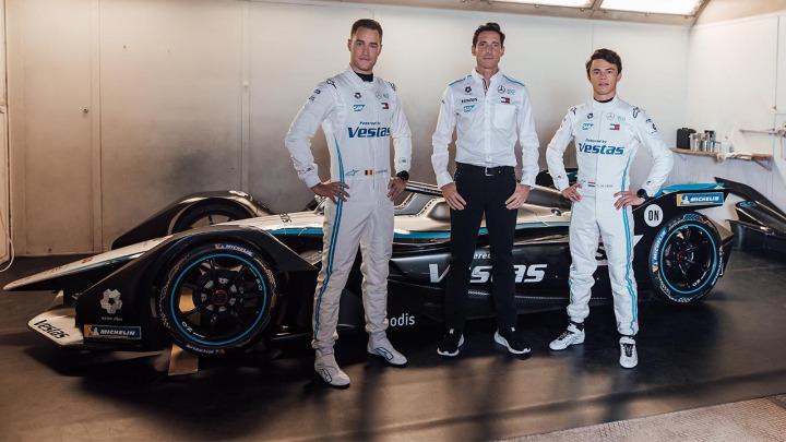 Zespół Mercedes-Benz EQ ogłosił skład w siódmym sezonie Formuły E
