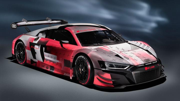 Druga ewolucja Audi R8 LMS GT3