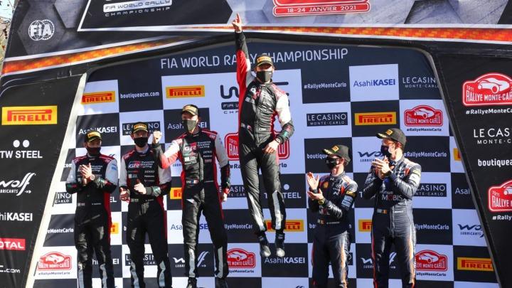 Podwójne zwycięstwo TOYOTA GAZOO Racing w Rajdzie Monte Carlo