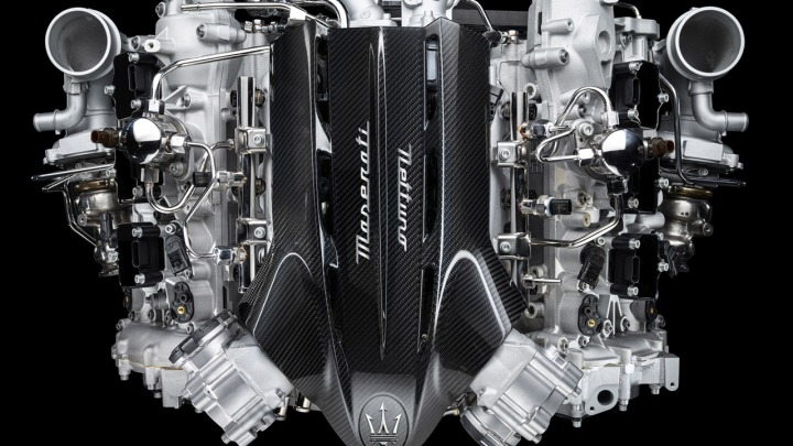 Nettuno nowy silnik od Maserati, który wykorzystuje technologię F1 w samochodzie drogowym