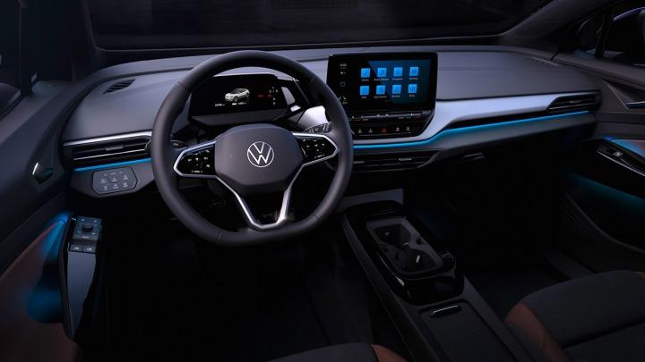 Pierwsze zdjęcia wnętrza Volkswagena ID.4