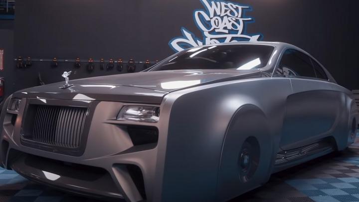 Rolls Royce Uriel od West Coast Customs