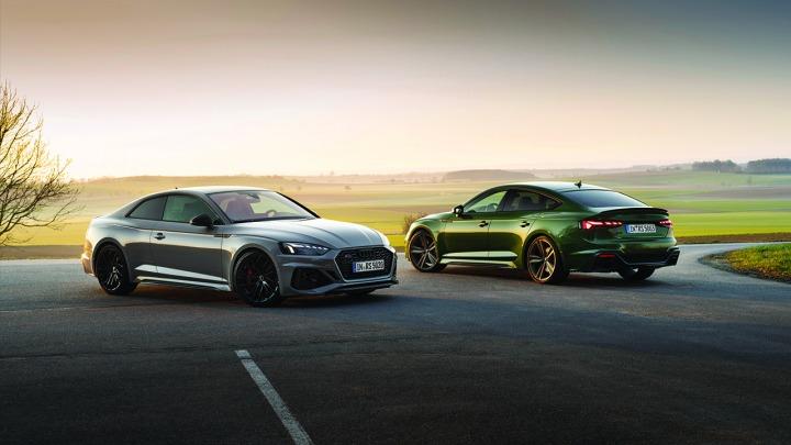 Audi RS 5 w nowej odsłonie Coupé oraz Sportback
