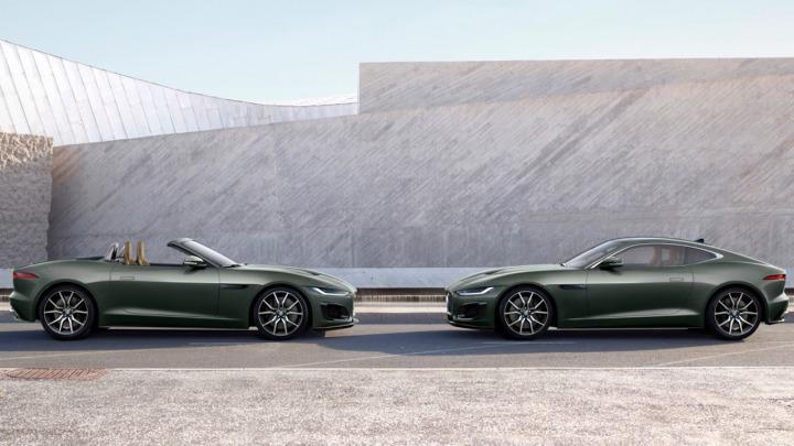 Nowa limitowana edycja Sherwood Green Jaguar F-TYPE