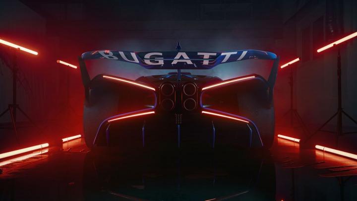 Bugatti Bolide najpiękniejszy Hypercar roku