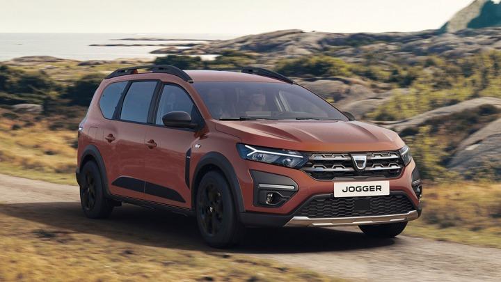 Zupełnie nowa Dacia Jogger 7-osobowy samochód rodzinny