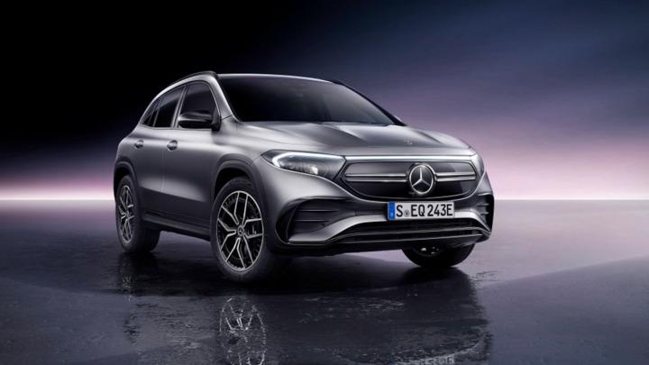 Mercedes EQA światowa premiera nowego elektryka