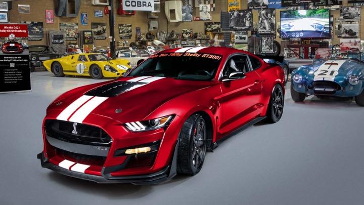 Wygraj Shelby GT500 2021 o mocy 760 KM i 25.000 $ w gotówce