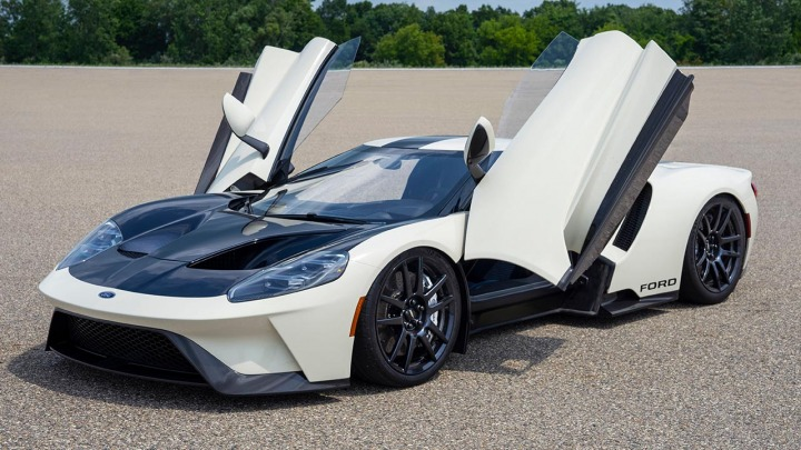 Ford GT 64 Prototype Heritage Edition