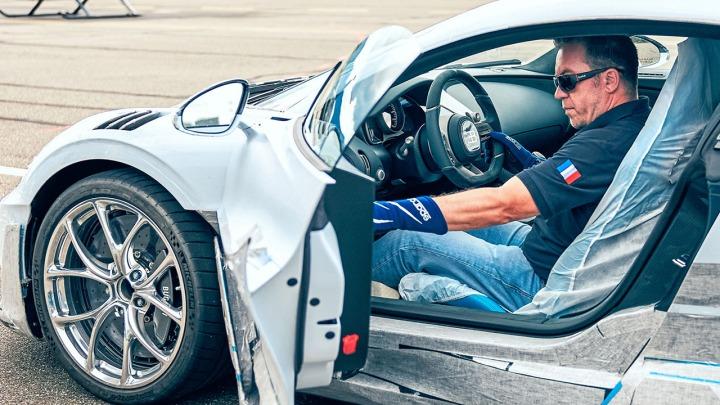 Bugatti Divo intensywne testy przed dostawą do klientów