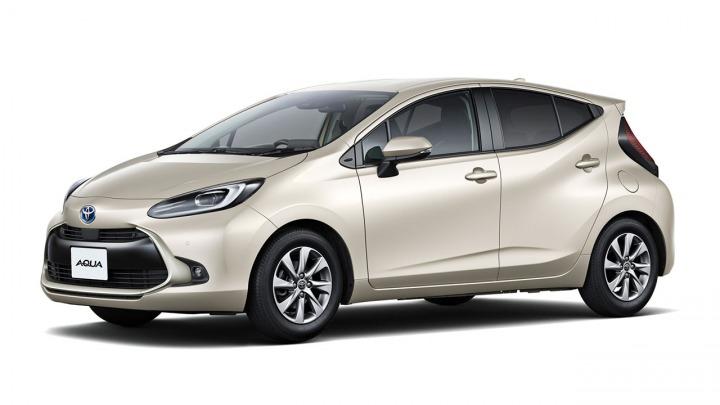 Zupełnie nowa hybrydowa Toyota Aqua