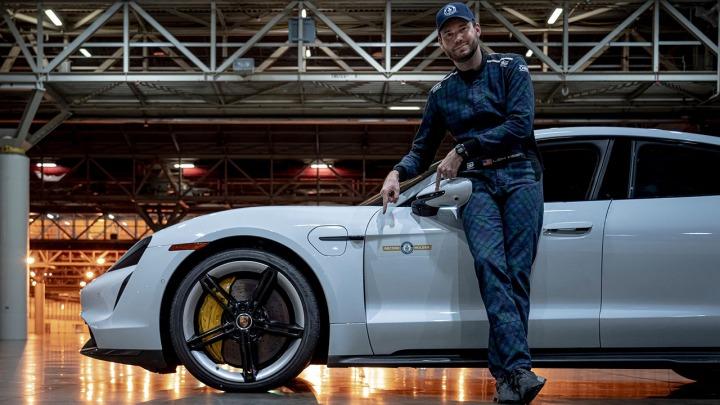 Porsche Taycan zdobywa nowy tytuł Guinness World Records