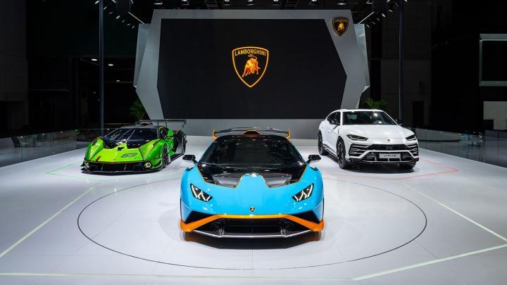 Trzy premiery Lamborghini podczas targów w Szanghaju
