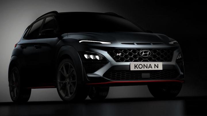 Hyundai KONA N pierwsze zdjęcia