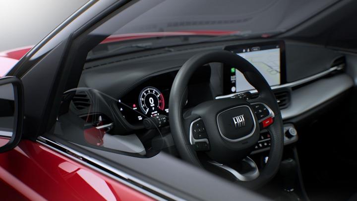 Fiat prezentuje wnętrze swojego nowego SUV-a Pulse