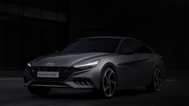 Hyundai Motor przedstawia rendering nowej linii Elantra N