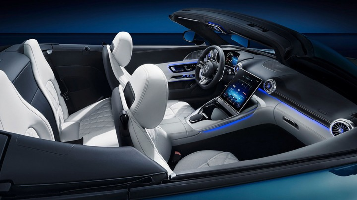 Poznaj wnętrze nowego Mercedesa-AMG SL