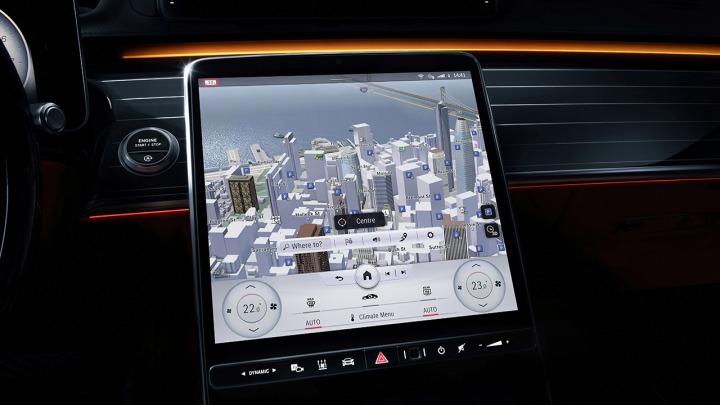 Samouczący się system operacyjny MBUX Mercedes-Benz User Experience