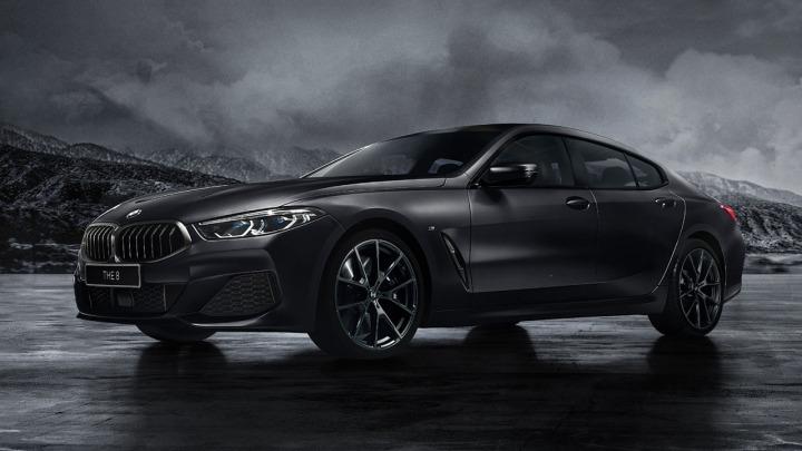 Limitowane BMW 840i Gran Coupe Frozen Black Edition