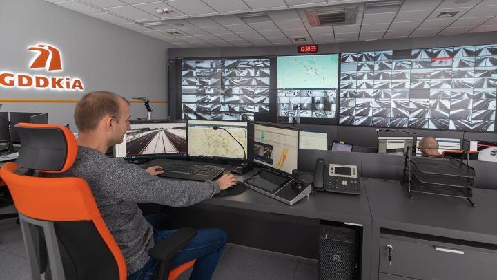 GDDKiA realizuje Krajowy System Zarządzania Ruchem Drogowym