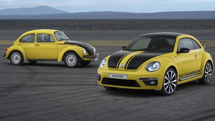Volkswagen Beetle GSR, klasyk w żółto-czarnym kolorze
