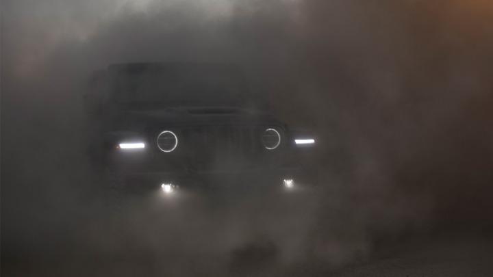 Koncepcyjny elektryczny Jeep Wrangler zostanie pokazany w przyszłym miesiącu