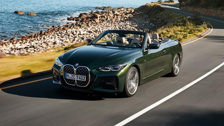 Całkowicie nowe BMW serii 4 Cabrio