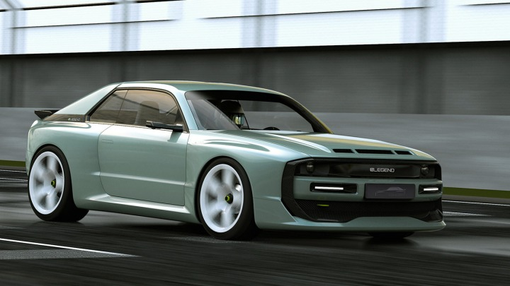 E-Legend EL1 nowy elektryk inspirowany Audi Quattro