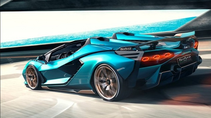 Jak działa smart material system w Lamborghini Sian