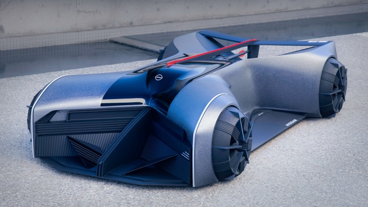 Nissan Design tworzy GT-R X 2050