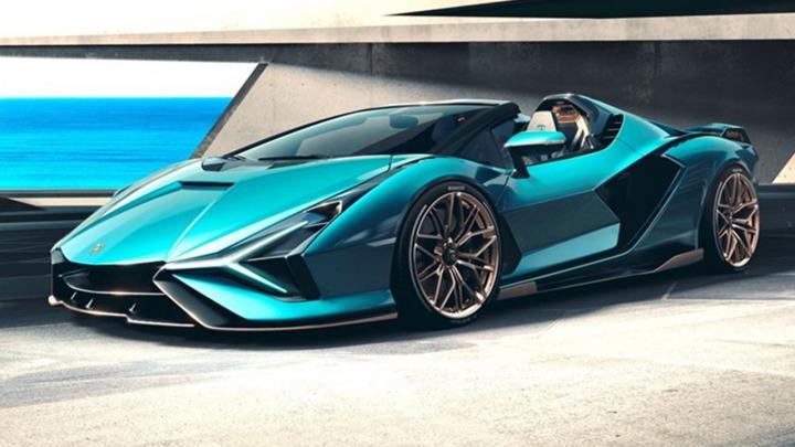 Premiera Lamborghini Sián Roadster