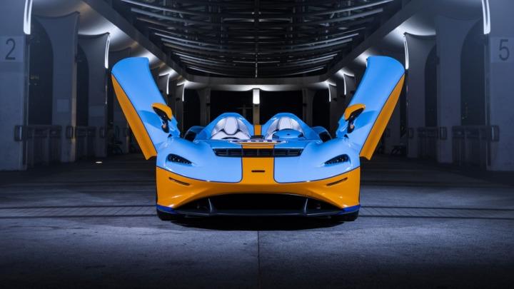 McLaren Elva Gulf debiutuje w Hongkongu