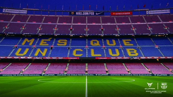CUPRA inicjuje kibicowanie FC Barcelona w meczach przy zamkniętych trybunach