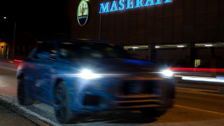 Prototyp SUV-a Maserati Grecale