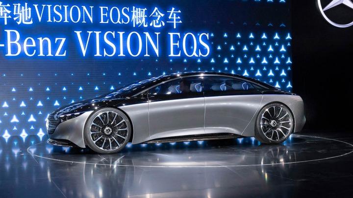 Wkrótce zobaczymy wnętrze nowego modelu EQS